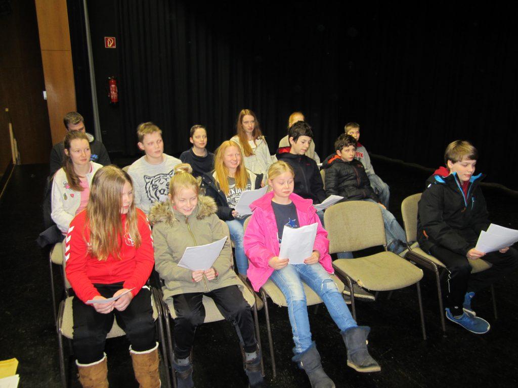 Theater, Unterrichtsszene 023